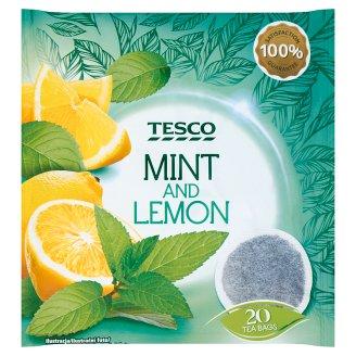 Tesco filteres borsmenta tea citromos ízesítéssel 20 filter 40 g
