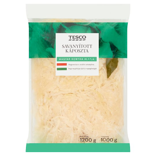 Tesco Pickled Cabbage 1200 g