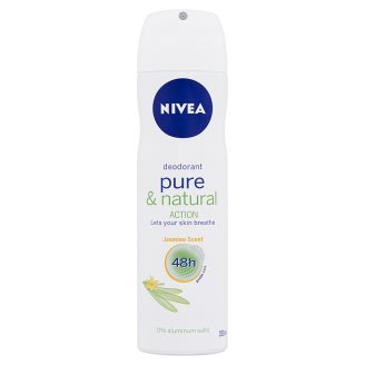 NIVEA Pure & Natural Action deo spray jázmin illattal 150 ml
