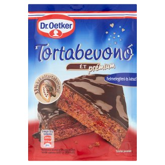 Dr. Oetker Premium Dark Chocolate Cake Covering 100 g
