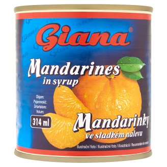Giana Mandarines in Syrup 312 g