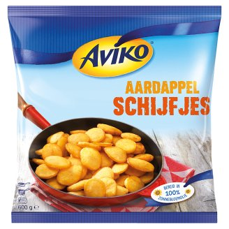 Aviko Pre-Fried and Quick-Frozen Potato Slices 600 g
