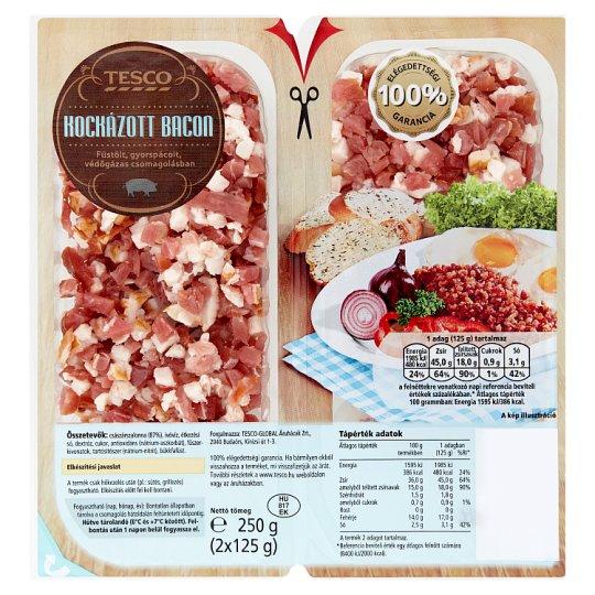 Tesco Bacon Cubes 2 x 125 g