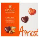 Lissé Marzipan-Apricot Heart Dipped in Dark Chocolate 96 g