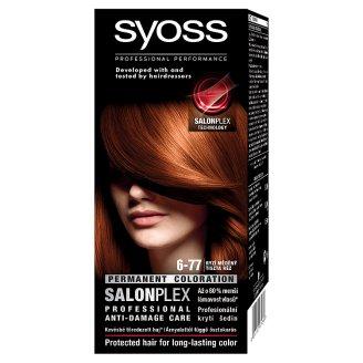 Syoss 6-77 Tiszta Réz tartós hajfesték