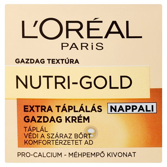 image 1 of L'Oréal Paris Nutri-Gold Extra Nourishing Day Cream 50 ml