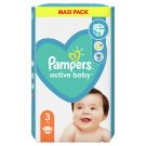Pampers Active Baby, 3-as Méret, 66 db Pelenka, 6-10 kg