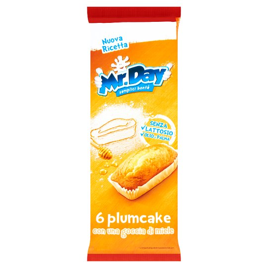 Mr. Day Plumcake finom sütemény 6 db 190 g
