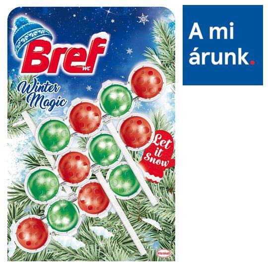 Bref Winter Magic Let it Snow WC-frissítő 3 x 50 g