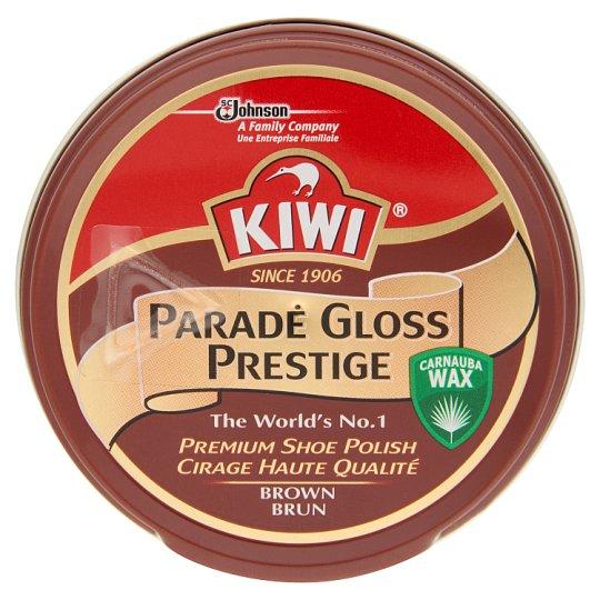 Kiwi Parade Gloss Prestige sötétbarna cipőkrém 50 ml