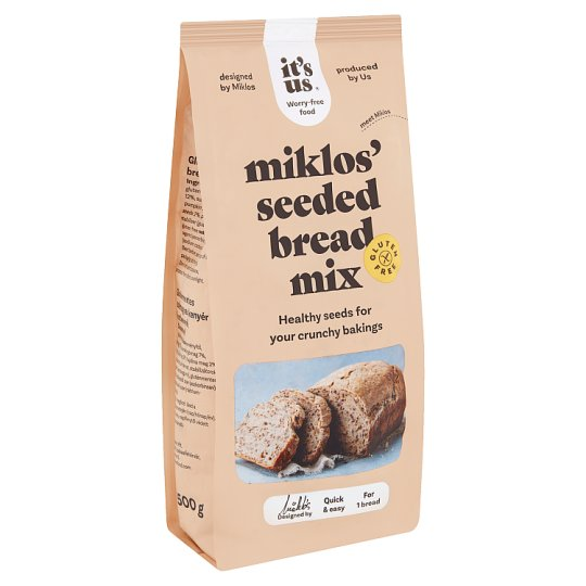 Naturbit Glutenix Mixed Grain Bread Flour Mix 500 g