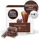 Nescafé Dolce Gusto Chococino csokoládépor és teljes tejpor cukorral 2 x 8 db 256 g