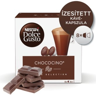 Nescafé Dolce Gusto Chococino Chocolate Powder and Whole Milk Powder with Sugar 2 x 8 pcs 256 g