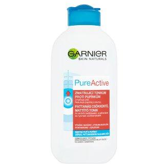 Garnier Skin Naturals PureActive pattanás csökkentő, mattító tonik 200 ml