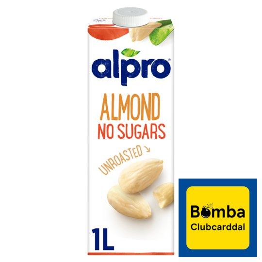 Alpro Cukormentes pörköletlen mandulaital 1 l