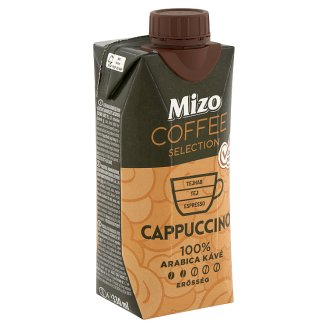 Mizo Coffee Selection Cappuccino UHT Lactose-Free Semi-Fat Coffee Milk Drink 330 ml