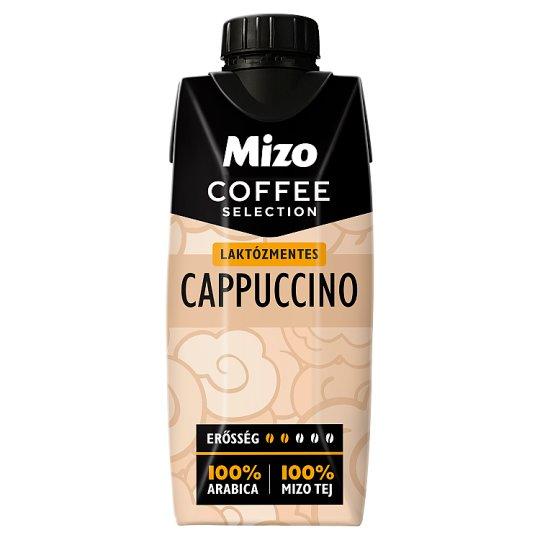 Mizo Coffee Selection Cappuccino UHT laktózmentes, félzsíros kávés tej 330 ml