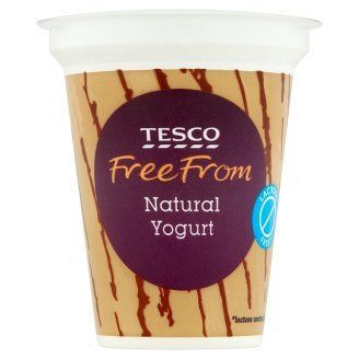 Tesco Free From Low-Fat, Lactose-Free, Natural Yoghurt with Live Cultures 150 g