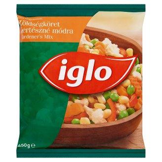 Iglo gyorsfagyasztott zöldségköret Kertészné módra 450 g