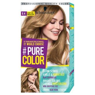 Schwarzkopf #Pure Color tartós hajfesték 8.4 Ásvány szőke
