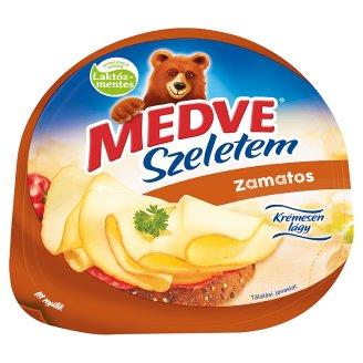 Medve Szeletem Zamatos Natural, High Fat Semi-Hard Cheese 130 g