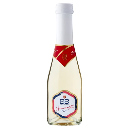 BB Spumante Aromatic Quality Sweet White Sparkling Wine 0,2 l