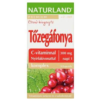 Naturland Premium tőzegáfonya komplex étrend-kiegészítő kapszula 30 db 14,55 g