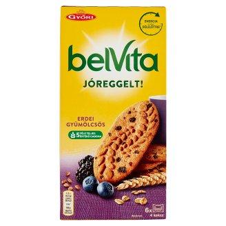 belVita JóReggelt! erdei gyümölcsös gabonás omlós keksz 300 g