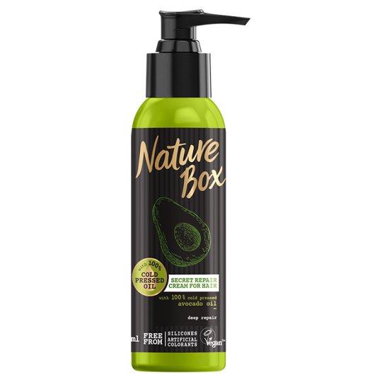 Nature Box Avokádó pumpás pakolás a regenerált hajért 150 ml