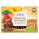 Tesco Green Tea with Mate & Mango 15 Tea Bags 22,5 g