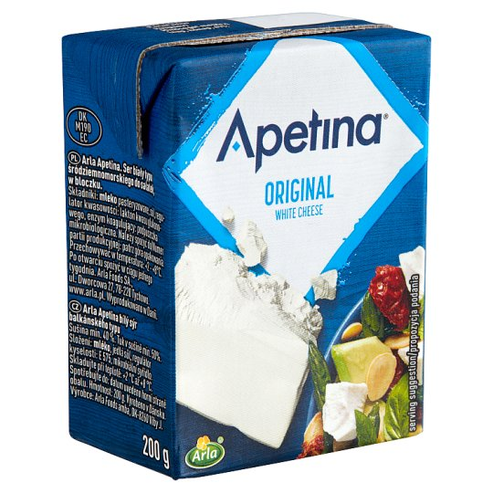 Arla Apetina Classic Semi-Fat, Soft Cream White Cheese 200 g