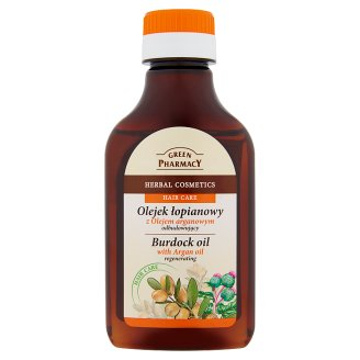 Green Pharmacy Burdock Oil with Argan Oil 100 ml