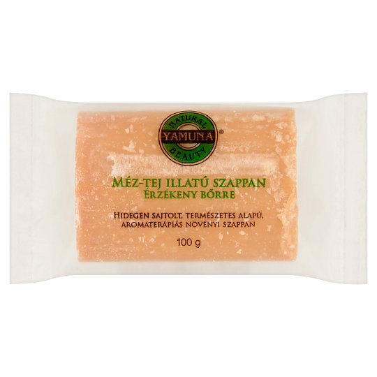 Yamuna Honey-Milk Scented Soap for Sensitive Skin 100 g