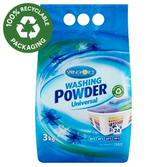 Springforce Universal Washing Powder 24 Washes 3 kg