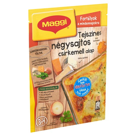 Maggi Chicken Breast with Cream and Four Cheese Mix 29 g