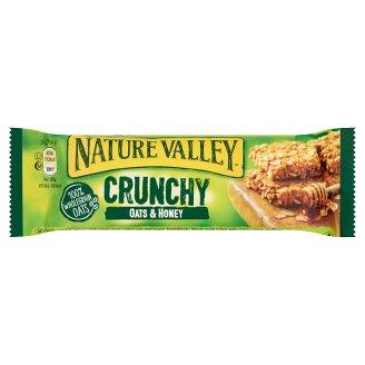 Nature Valley Crunchy ropogós müzliszelet teljes kiőrlésű zabpehellyel és mézzel 42 g