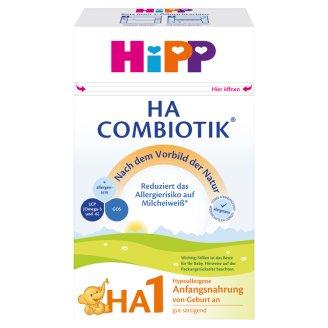 HiPP HA 1 Combiotik tejalapú hypoallergén anyatej-helyettesítő tápszer újszülött kortól 500 g