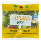 Tesco Washed, Ready to Eat Toscana Salad 130 g