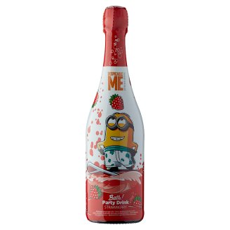 Bello! Party Drink Alcohol-Free Carbonated Strawberry Drink 750 ml