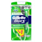 Gillette Blue3 SenseCare Disposable Razors 6 pcs