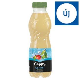Cappy Ice Fruit Apple-Pear szénsavmentes vegyesgyümölcs ital bozdavirág ízesítéssel 500 ml