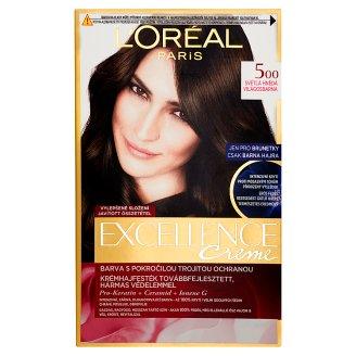 L'Oréal Paris Excellence Crème 5 világosbarna tartós krémhajfesték