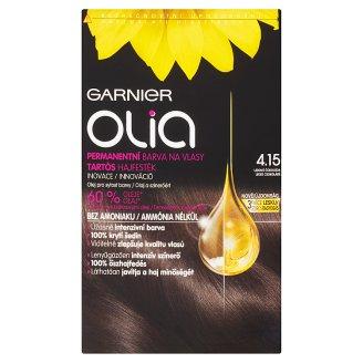 Garnier Olia 4.15 jeges csokoládé tartós hajfesték