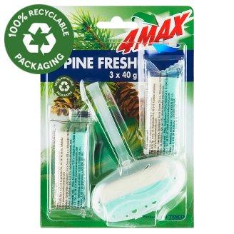4MAX Pine Fresh WC illatosító rúd 3 x 40 g