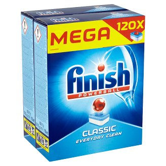 Finish Classic Dishwasher Tablets 120 pcs