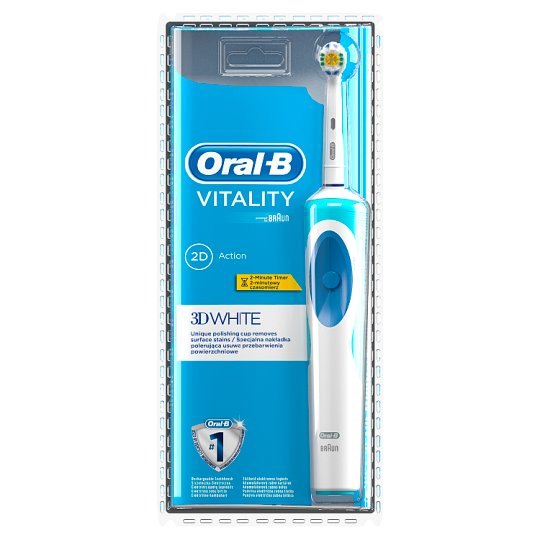 Oral-B Vitality 3D White Electric Toothbrush Powered by Braun