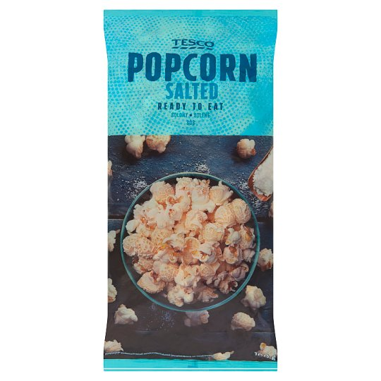 Tesco Ready to Eat Salted Popcorn 100 g
