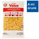 Tesco Value Horn Dried Pasta with 2 Eggs 500 g