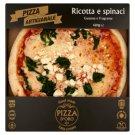 Pizza D'Oro Ricotta e spinaci gyorsfagyasztott kézműves pizza 420 g