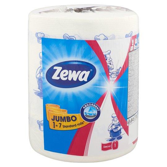Zewa Design Jumbo 1 Roll Household Towels 325 Sheets/Roll